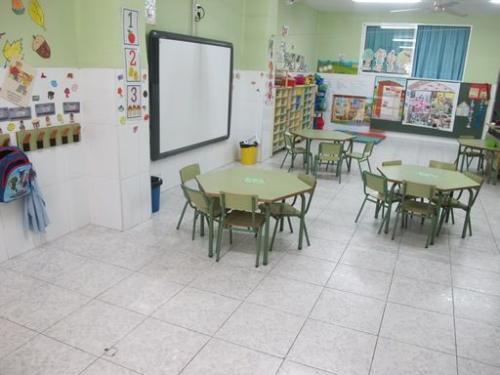 aula infantil colegio mercurio