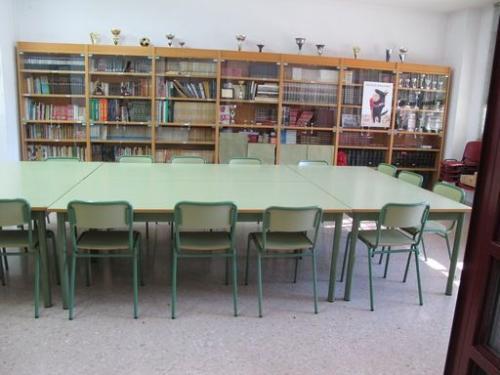 biblioteca colegio mercurio